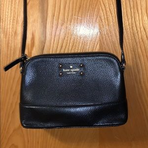 BLACK KATESPADE CROSSBODY BAG